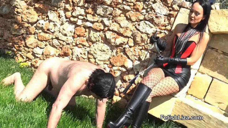Lock S. reccomend Bdsm femdom submisive men outdoor