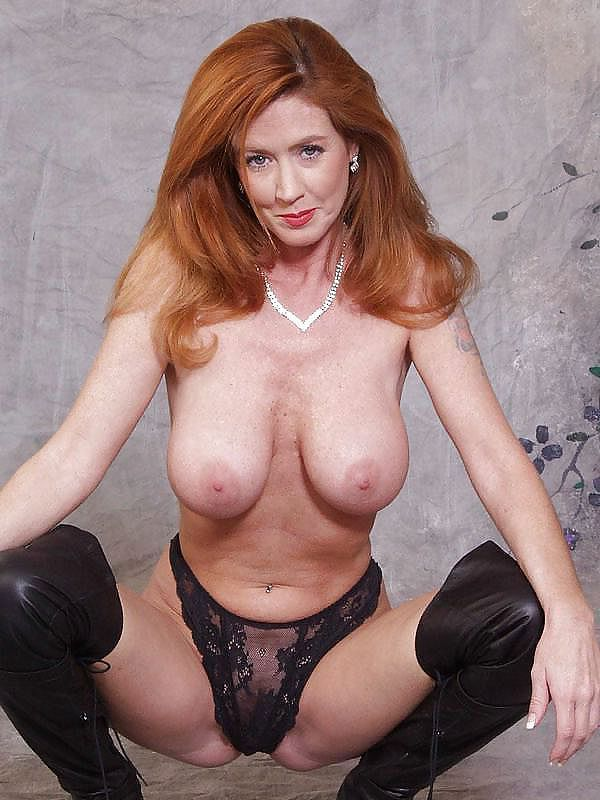 Sex video hot older redhead