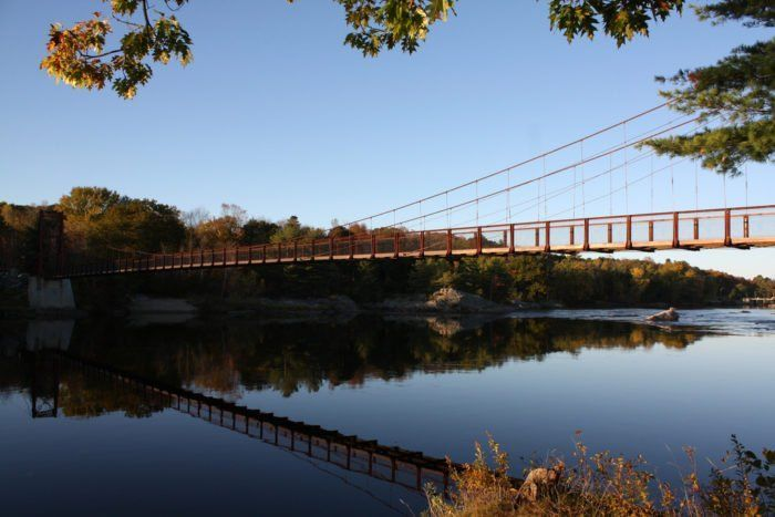 best of In york pa Swinging bridge