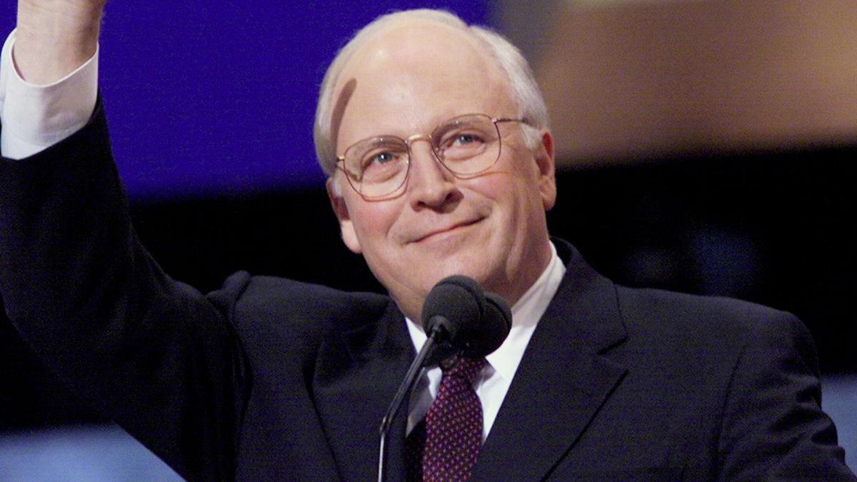 Saber reccomend Dick cheney position