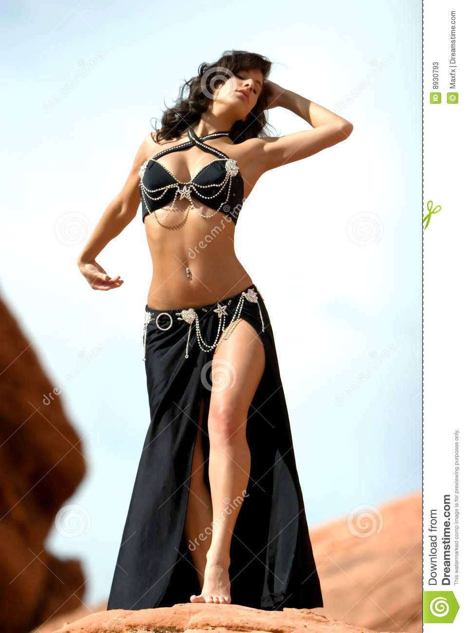 Inventor reccomend Belly dancing costume erotic