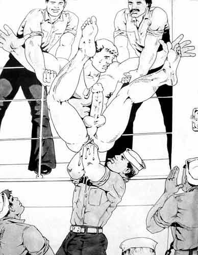Chubby gay animation