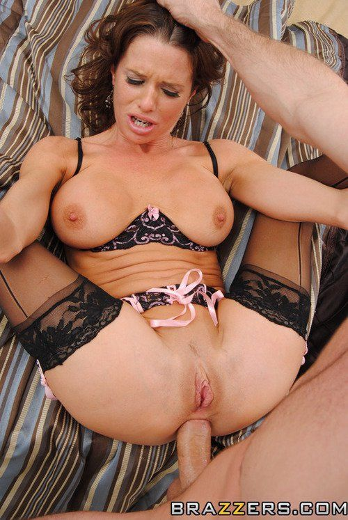 Old anal milf