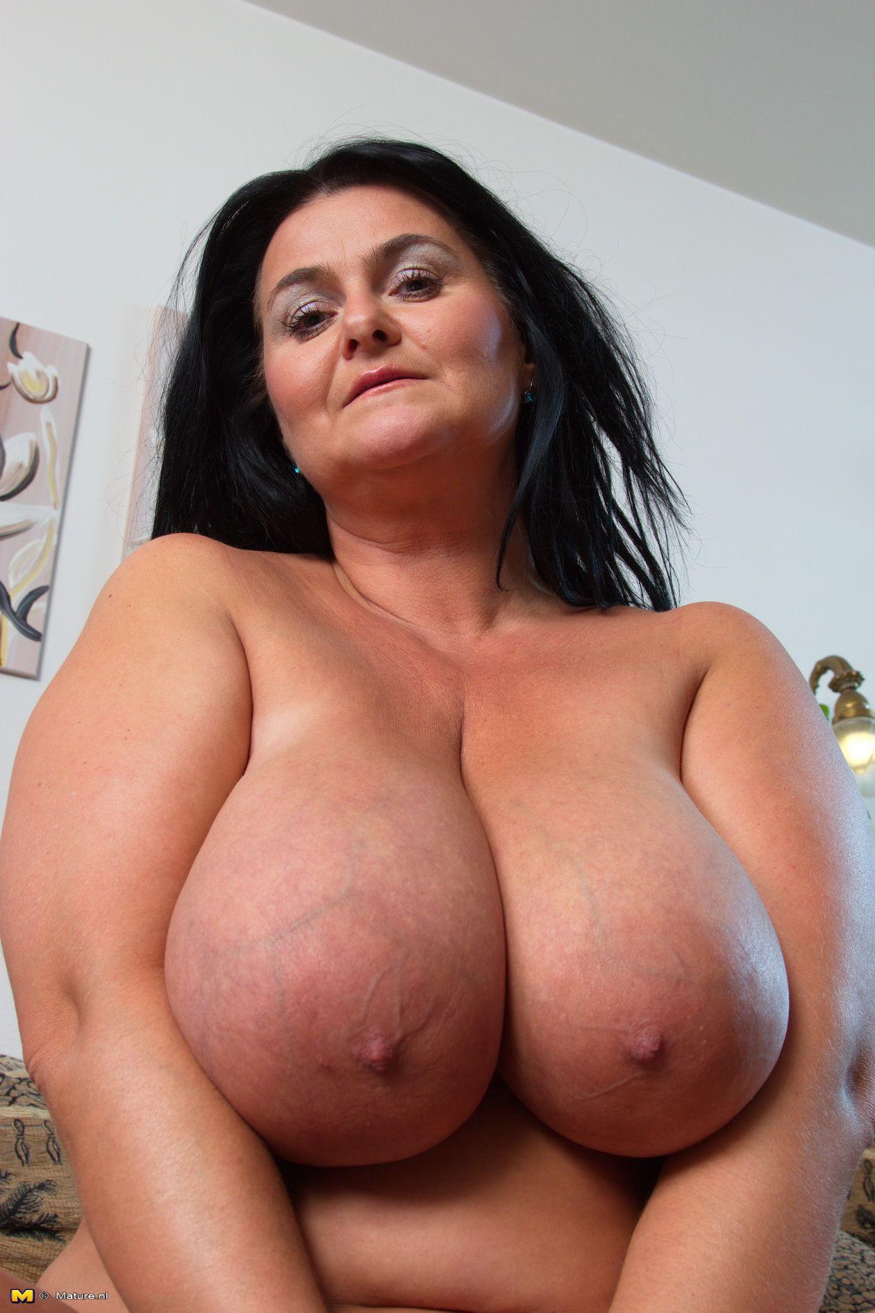 Mature women natural tits