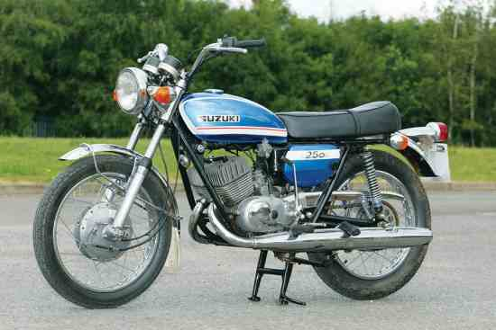 best of T250 hustler suzuki 1972