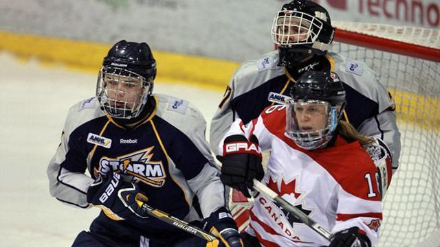Muffin reccomend Aaa canadian hockey midget playing team womens
