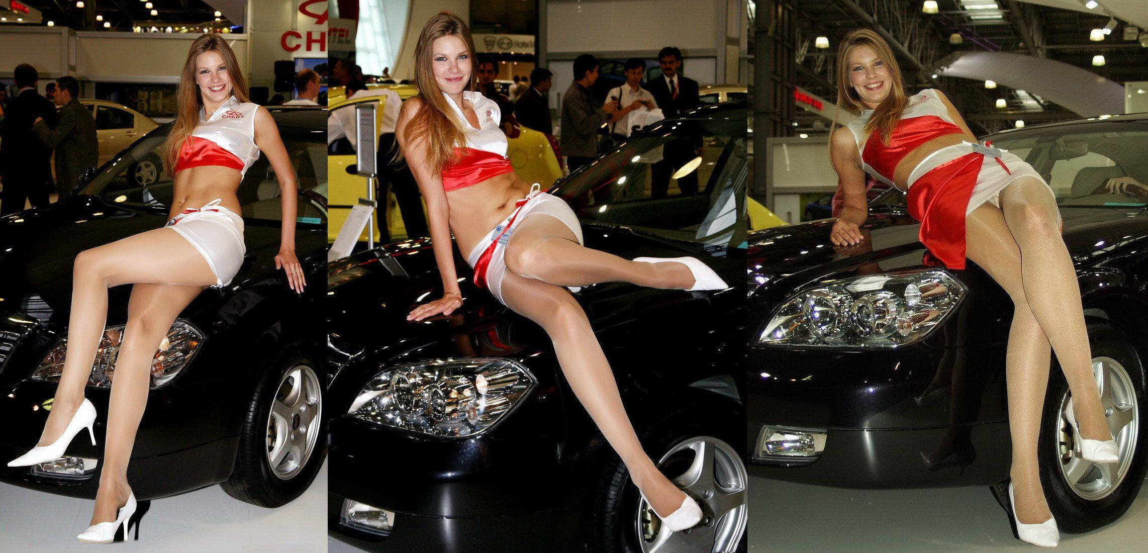 Carshow Upskirt at