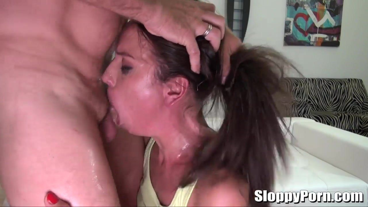 She love deepthroat slut load