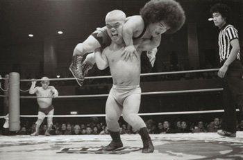 Black midget wrestling