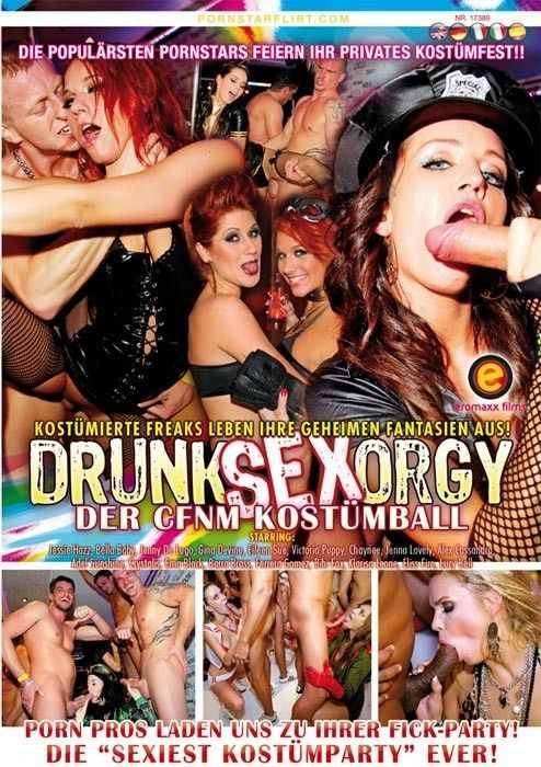 Drunk german orgy