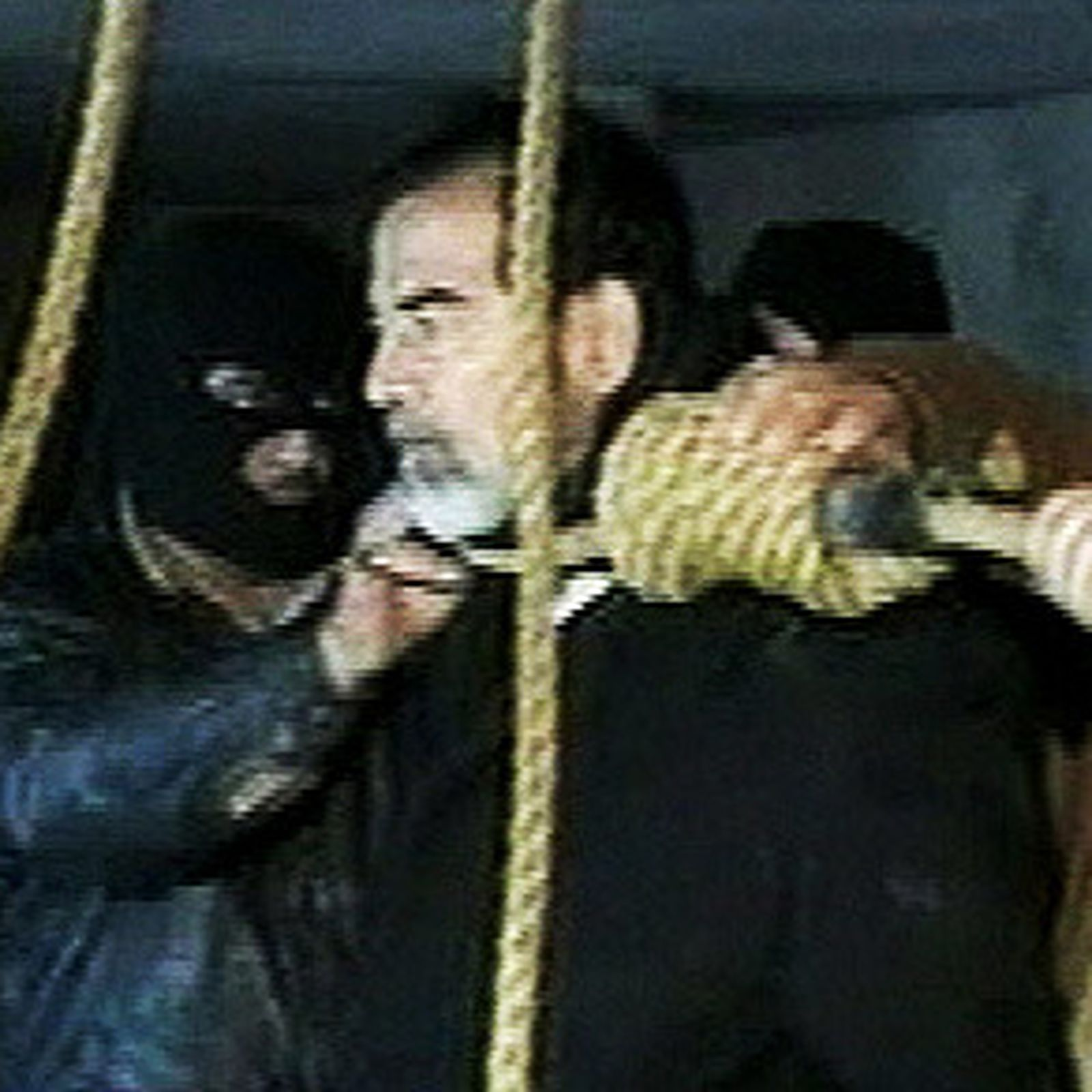 Amateur video shows the final moments of saddam