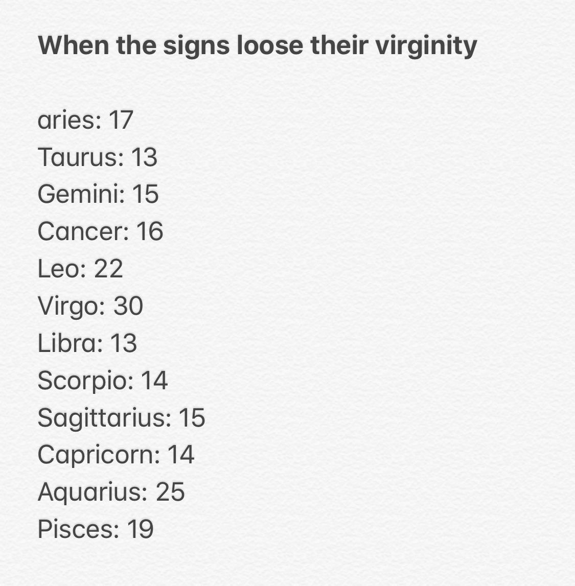 Gator reccomend Signs you lost your virginity