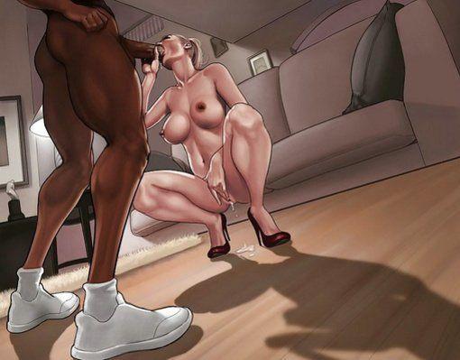 Interracial cartoon x rated
