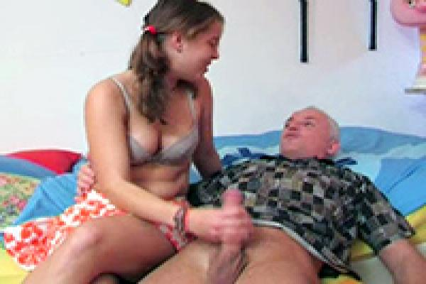 best of For video Handjob grandpa