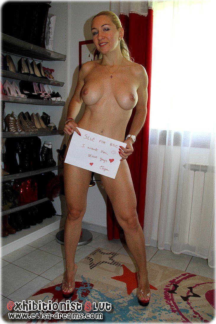 Genuine average female buttocks