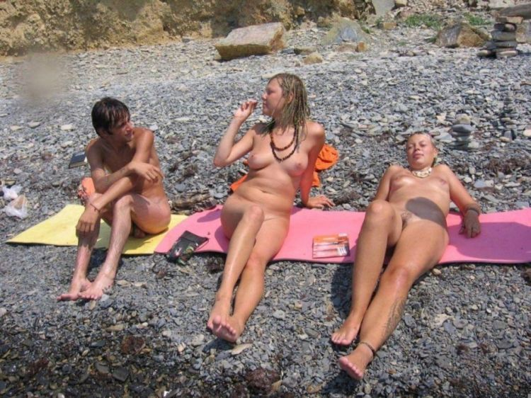 Sexy nudist family photos