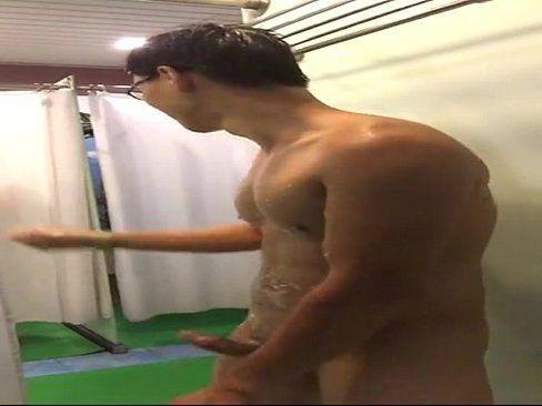 Public restroom videos jerk off