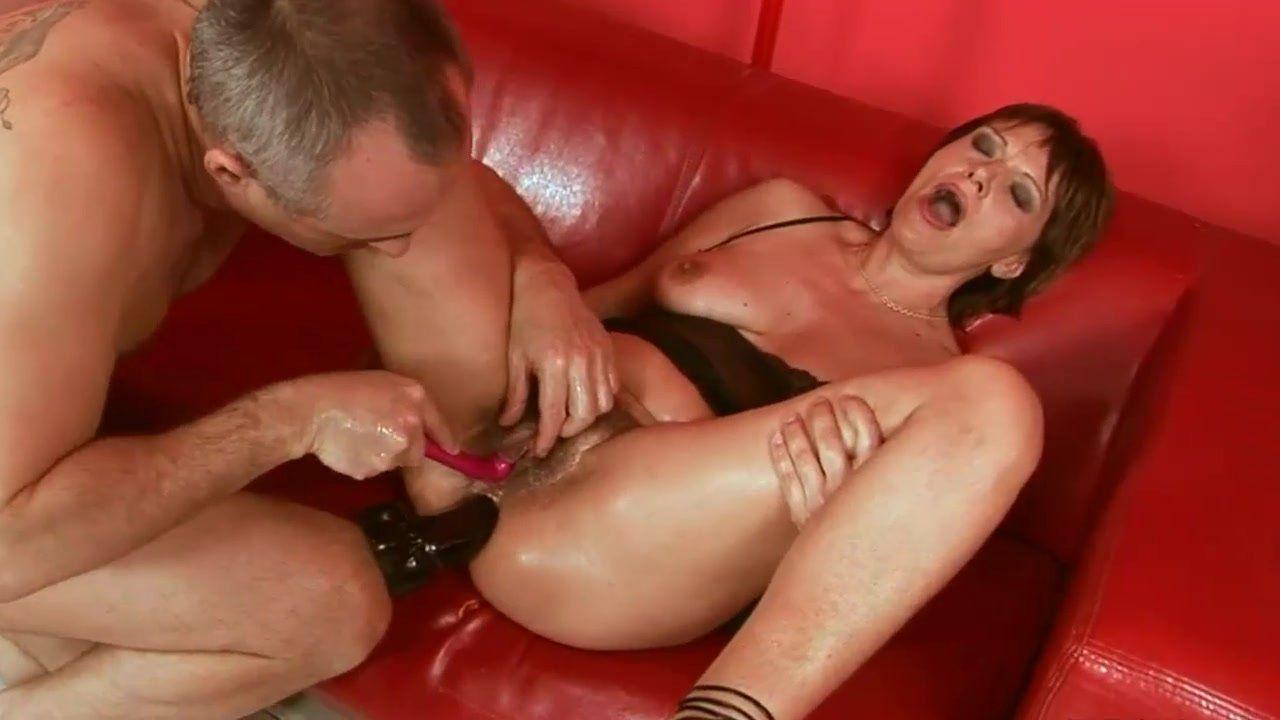 Extreme anal heavy orgasm