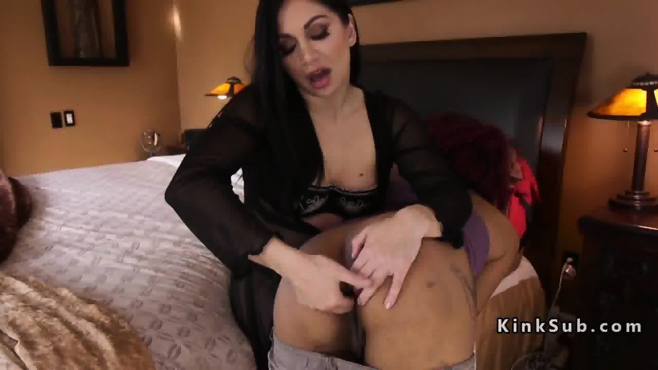 Busty lesbian spank videos