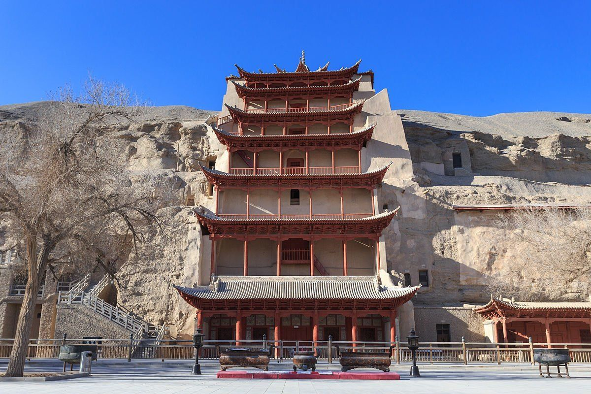 Strawberry reccomend Asian monastery style architecture