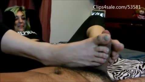 Gymnast pussy slip
