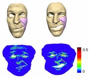 Champ reccomend 3-d computer image of facial expression