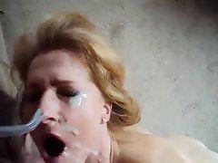 Belle reccomend Wife takes facial