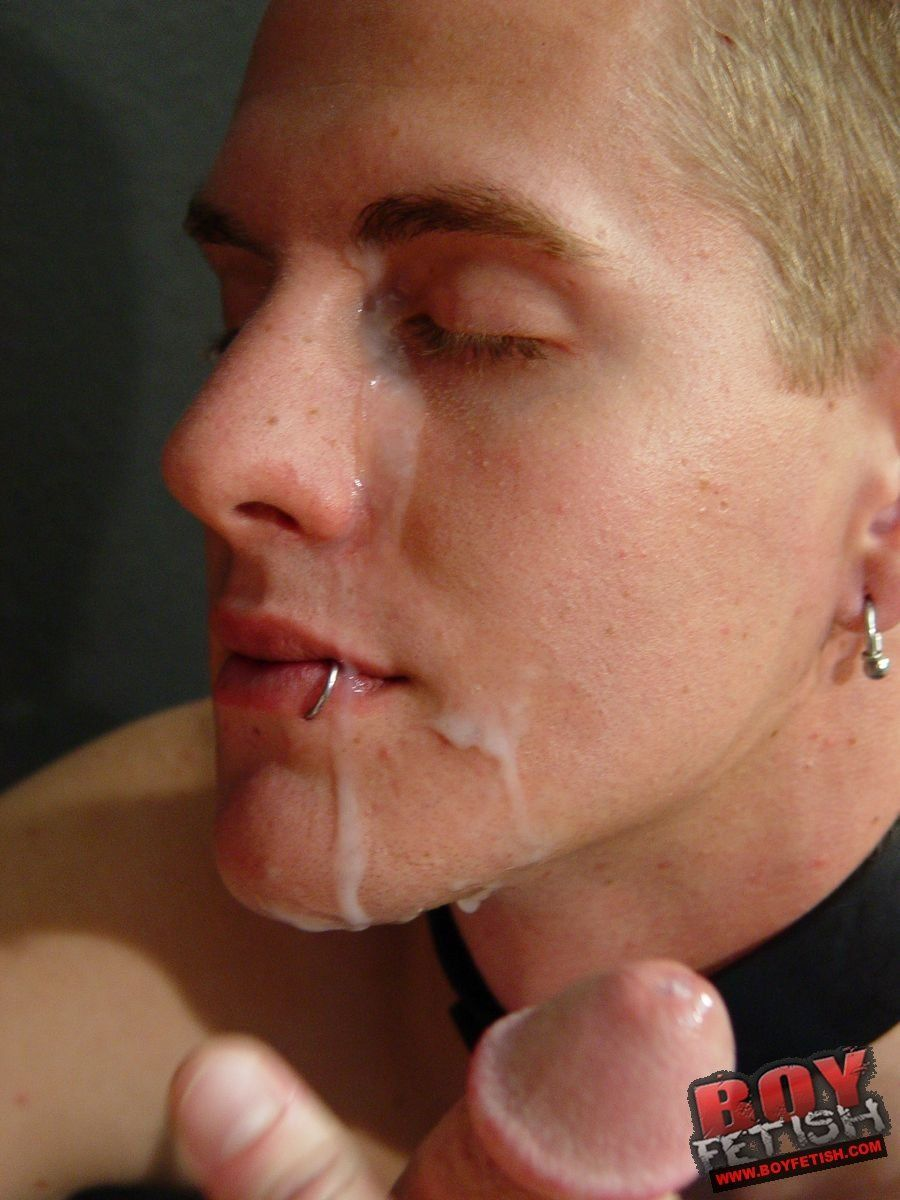 Gay spunk face