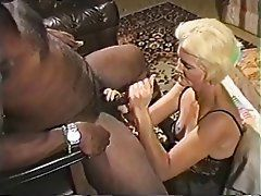 Sex interracial handjob