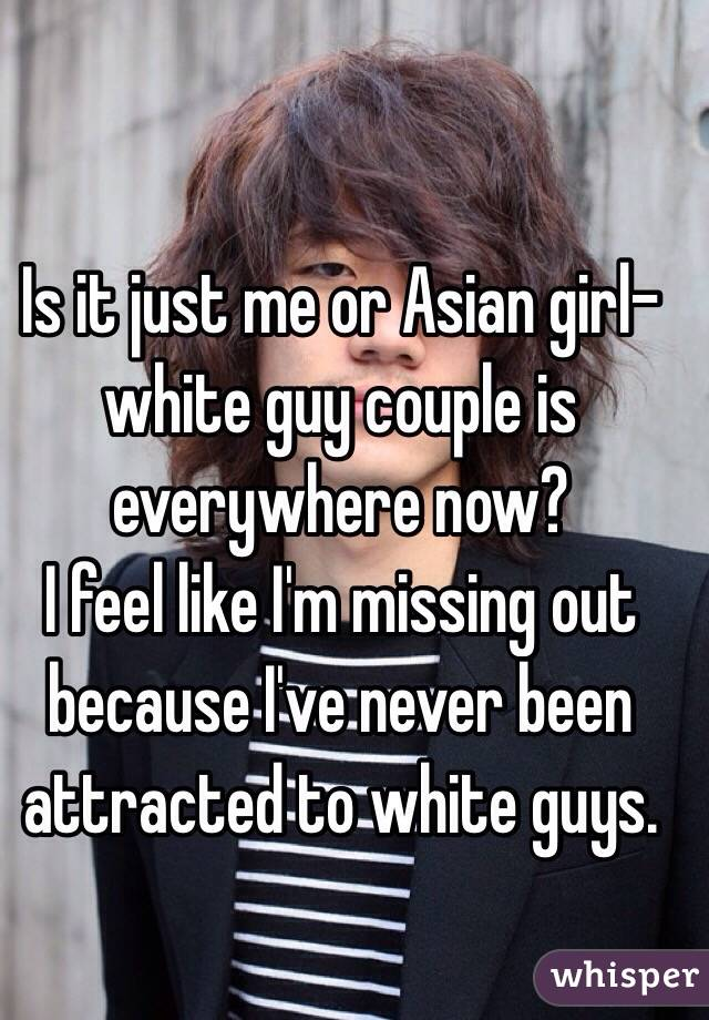 best of White Asian to girls guys attracted