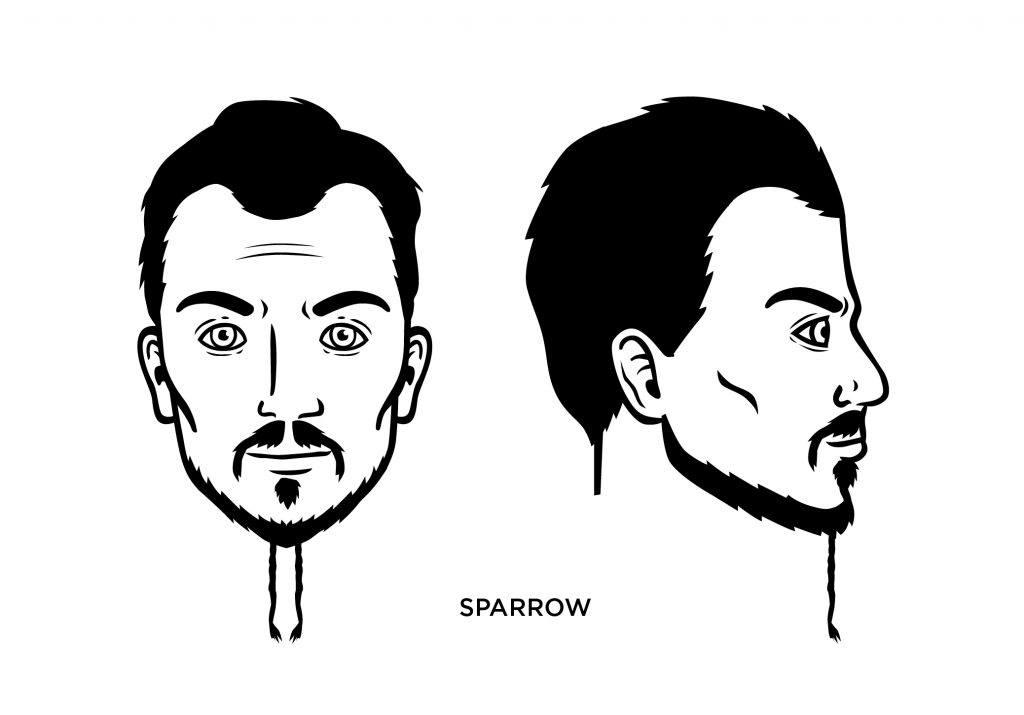 best of Facial braid sparrow Jack