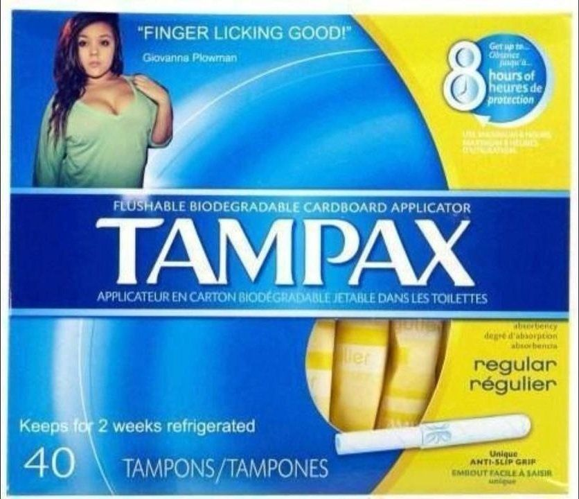 Lion reccomend Lick her tampon