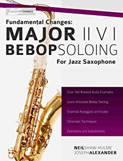 Bay jazz lick mel pattern phrase present saxophone