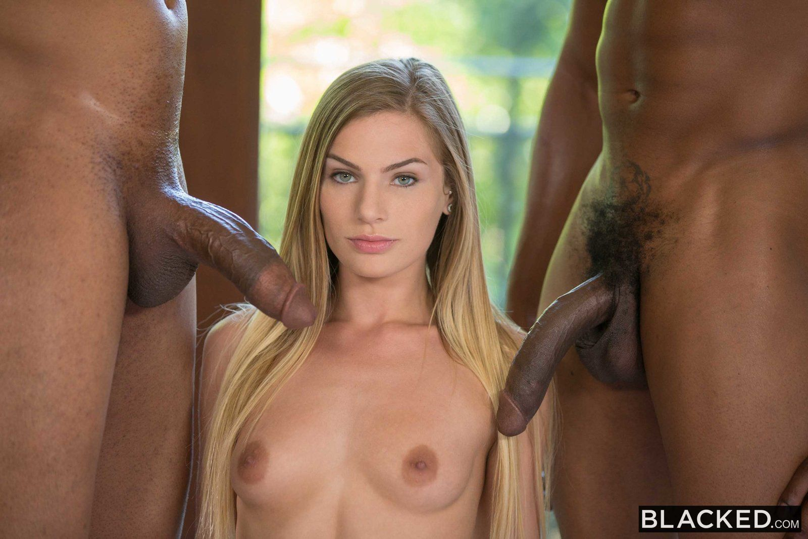 Anita blond threesome