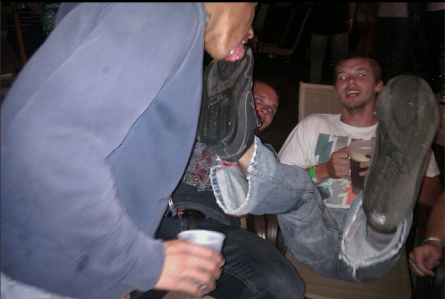 Yardwork reccomend Lick boot soles