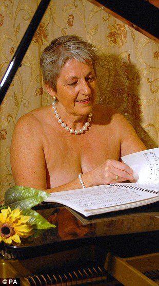Older women on nude calanders