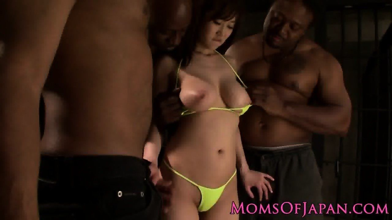 Cartier reccomend Asian mommy railed by black cocks foursome