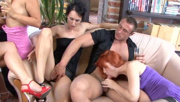 The L. reccomend Sex party gets bisexual