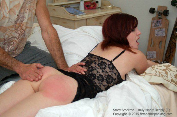 Sorry, that Baring wifes ass for spanking