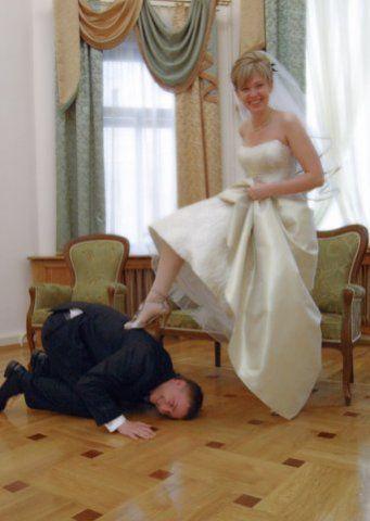 best of Mariage ceremony Femdom