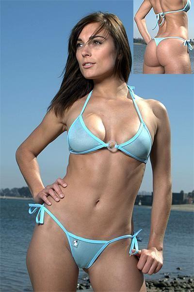 Bikini brazilian sheer