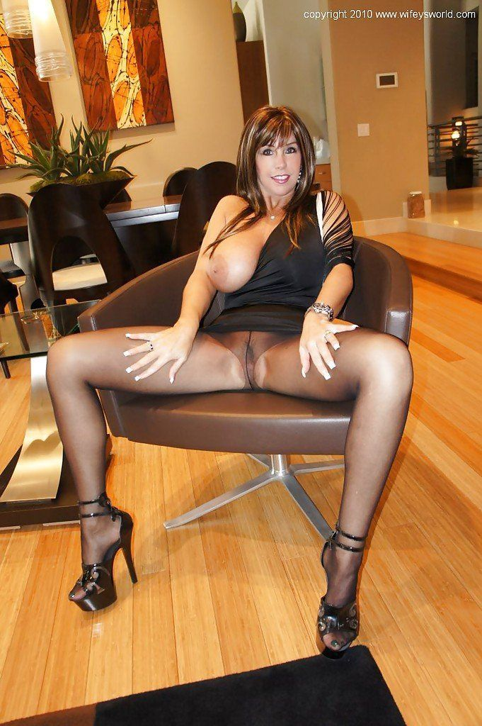 Big titty black milfs in pantyhose