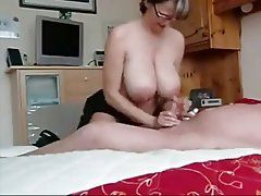 best of Tits mom handjob Huge
