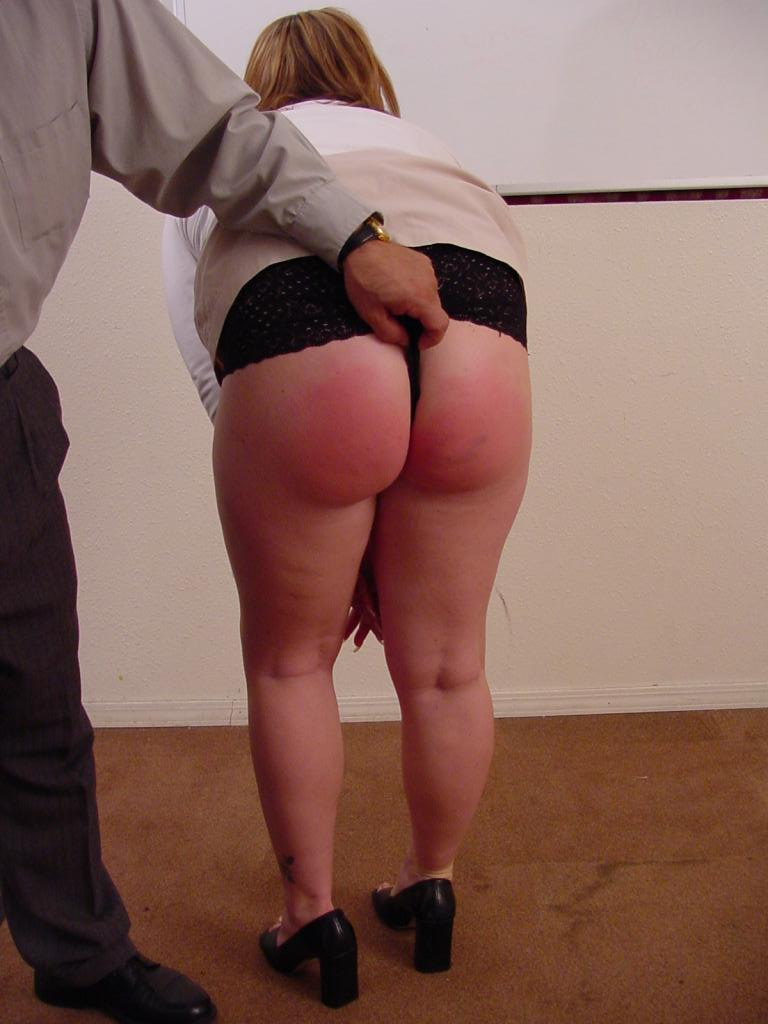 Ass fetish spank