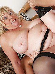 Double older penetration woman