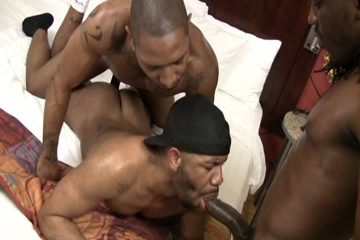 Two dudes oral sex in the office