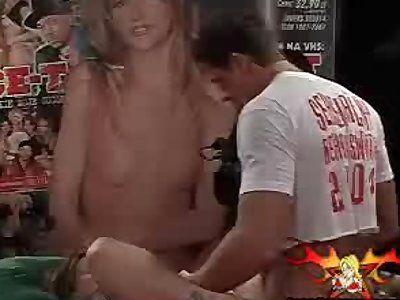 World record gangbang eroticon