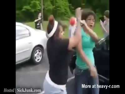 C-Brown reccomend Chick beat down tits