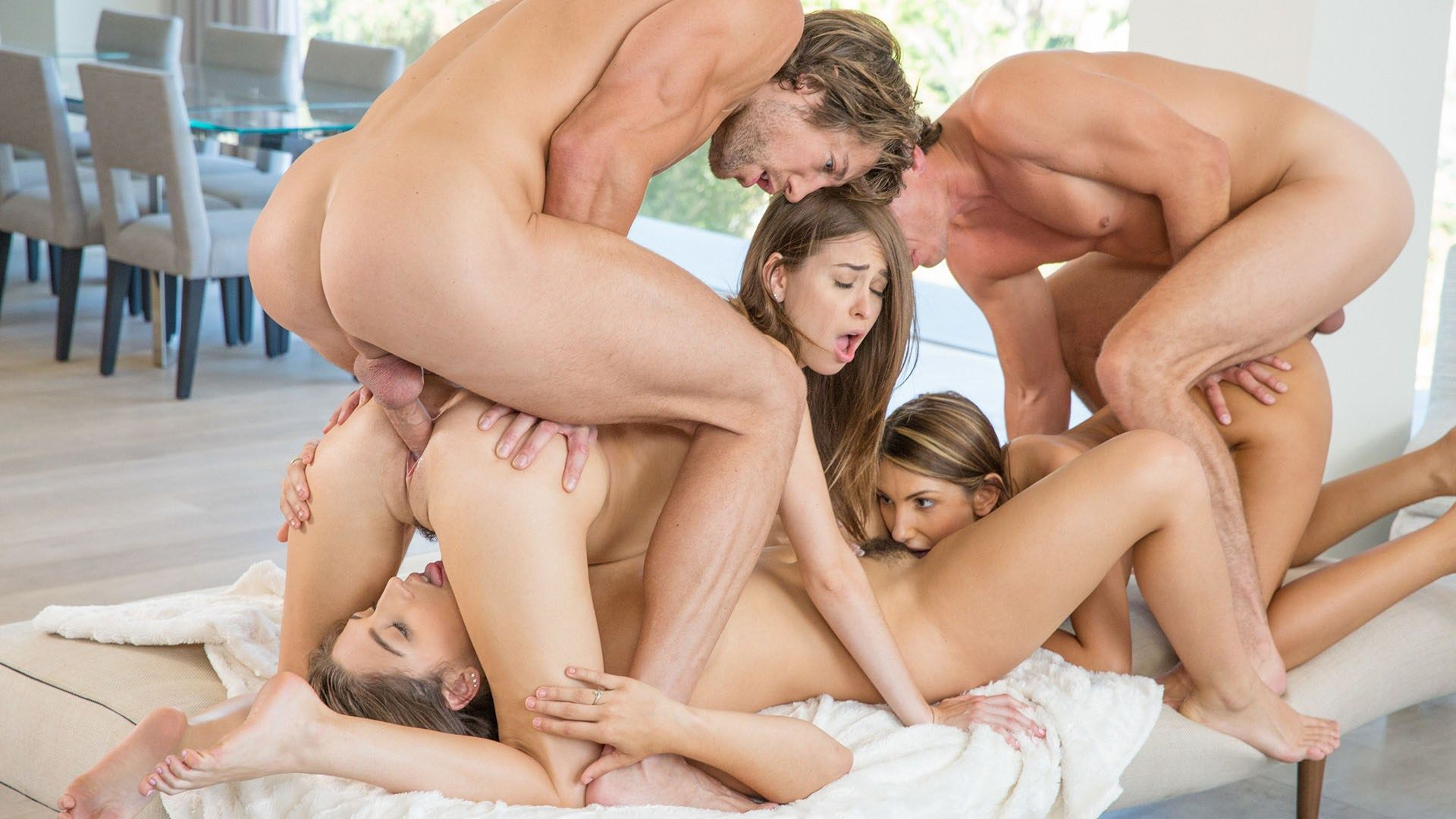 Free video group sex
