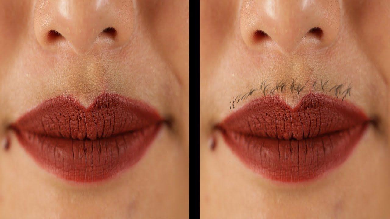 All women have facial hair